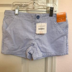 NWT🌈SOLDOUT Big Girl's Seersucker Shorts